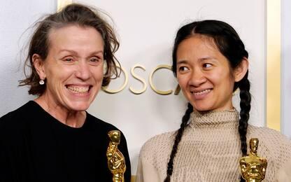 "Oscar 2021, il discorso di Frances McDormand: ""Tornate al cinema"""