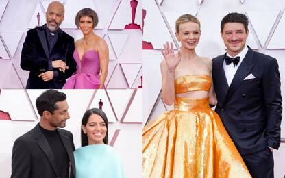 Oscar 2021: le coppie sul red carpet. FOTO