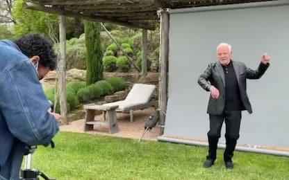 """Anthony Hopkins, viaggio a Cortona: """"Sono qui, bella Italia"""""""