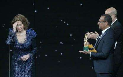 Sophia Loren, il discorso commosso ai David di Donatello