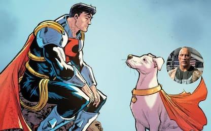 League of Super Pets, Dwayne Johnson sarà il cane di Superman
