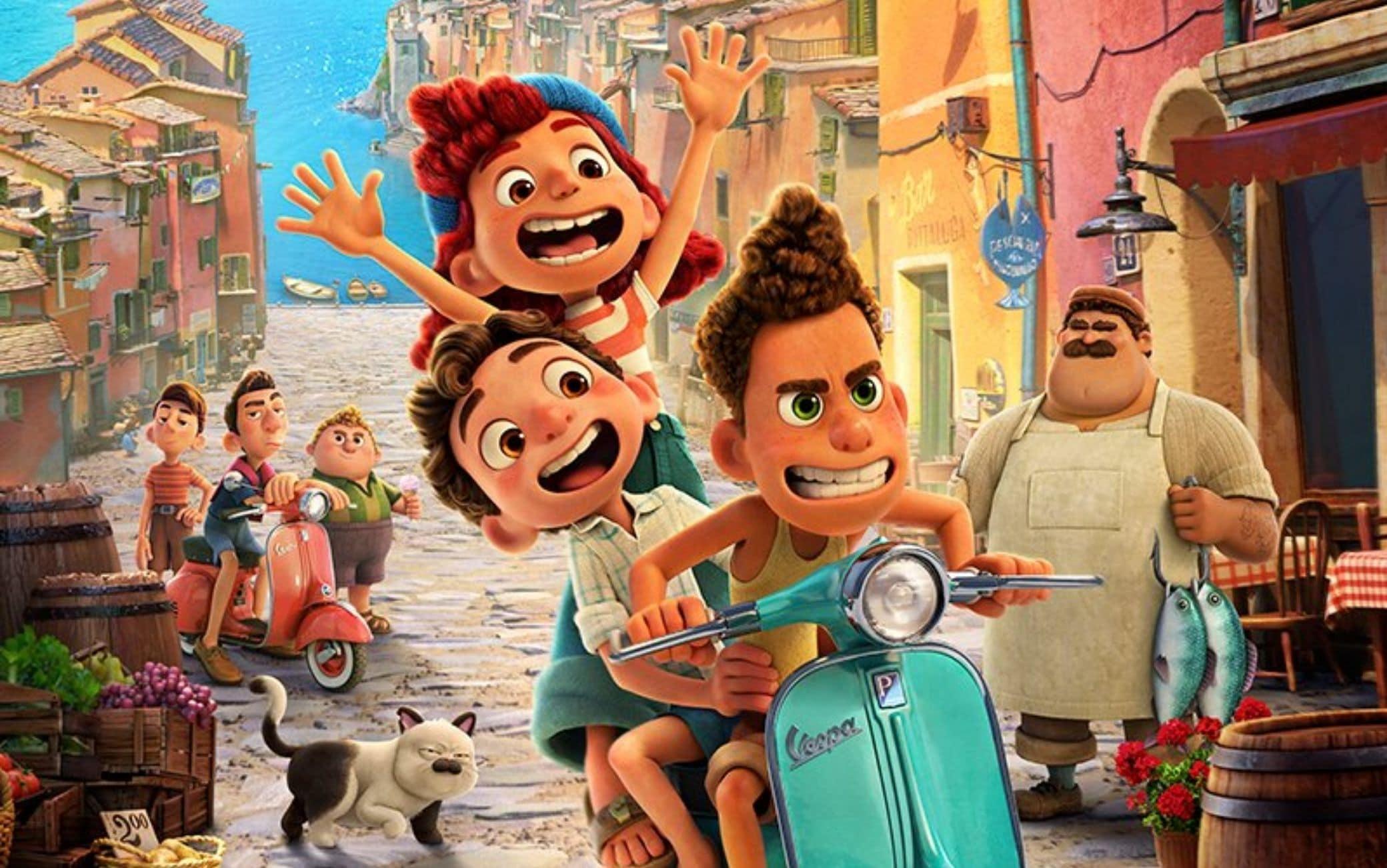 Luca, il primo videoclip del film Pixar