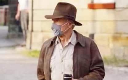 Indiana Jones 5, foto dal set: c'è un giovane Harrison Ford