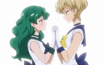 Sailor Neptune e Uranus
