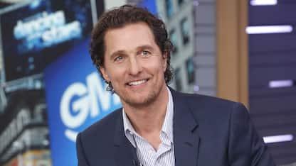 Matthew McConaughey si racconta nell'autobiografia Greenlight