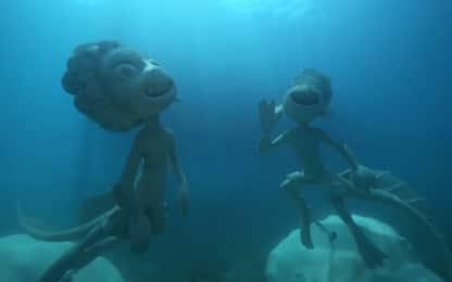 Luca, le statue subacquee dei protagonisti al largo di Monterosso
