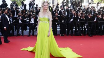 """CANNES, FRANCE - JULY 08: Chiara Ferragni attends the """"Stillwater"""" screening during the 74th annual Cannes Film Festival on July 08, 2021 in Cannes, France. (Photo by Vittorio Zunino Celotto/Getty Images for Kering)"""