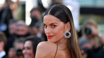 """CANNES, FRANCE - JULY 08: Izabel Goulart attends the """"Stillwater"""" screening during the 74th annual Cannes Film Festival on July 08, 2021 in Cannes, France. (Photo by Stephane Cardinale - Corbis/Corbis via Getty Images)"""