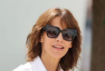"""French actress Sophie Marceau poses during a photocall for the film """"Tout s'est Bien Passe"""" (Everything Went Fine) at the 74th edition of the Cannes Film Festival in Cannes, southern France, on July 8, 2021. (Photo by Valery HACHE / AFP) (Photo by VALERY HACHE/AFP via Getty Images)"""