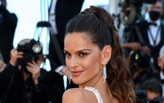 """CANNES, FRANCE - JULY 09: Izabel Goulart attends the """"Benedetta"""" screening during the 74th annual Cannes Film Festival on July 09, 2021 in Cannes, France. (Photo by Pascal Le Segretain/Getty Images)"""