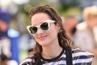 """CANNES, FRANCE - JULY 10: Marion Cotillard attends the """"Bigger Than Us"""" photocall during the 74th annual Cannes Film Festival on July 10, 2021 in Cannes, France. (Photo by Stephane Cardinale - Corbis/Corbis via Getty Images)"""
