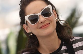 """CANNES, FRANCE - JULY 10: Marion Cotillard attends the """"Bigger Than Us"""" photocall during the 74th annual Cannes Film Festival on July 10, 2021 in Cannes, France. (Photo by Mike Marsland/WireImage)"""