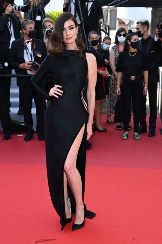 """CANNES, FRANCE - JULY 10: Paz Vega attends the """"De Son Vivant (Peaceful)"""" screening during the 74th annual Cannes Film Festival on July 10, 2021 in Cannes, France. (Photo by Daniele Venturelli/WireImage)"""