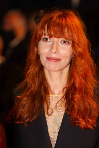 """CANNES, FRANCE - JULY 10: Kira Kovalenko attends the """"Flag Day"""" screening during the 74th annual Cannes Film Festival on July 10, 2021 in Cannes, France. (Photo by Stephane Cardinale - Corbis/Corbis via Getty Images)"""