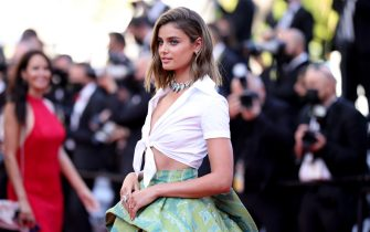 """CANNES, FRANCE - JULY 11: Taylor Hill attends the """"Tre Piani (Three Floors)"""" screening during the 74th annual Cannes Film Festival on July 11, 2021 in Cannes, France. (Photo by Andreas Rentz/Getty Images)"""