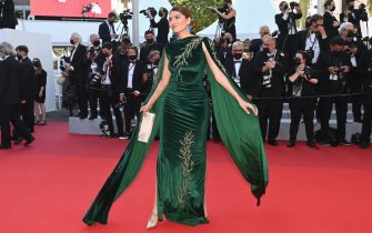 """CANNES, FRANCE - JULY 11: Blanca Blanco attends the """"Tre Piani (Three Floors)"""" screening during the 74th annual Cannes Film Festival on July 11, 2021 in Cannes, France. (Photo by Kate Green/Getty Images)"""