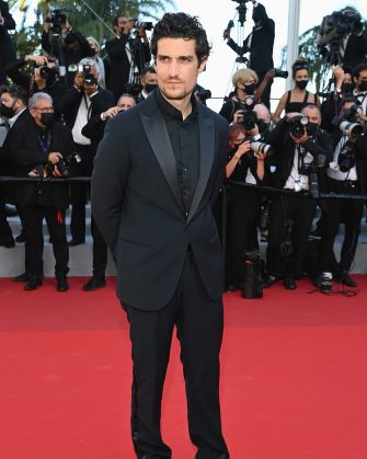 """CANNES, FRANCE - JULY 14: Louis Garrel attends the """"A Felesegam Tortenete/The Story Of My Wife"""" screening during the 74th annual Cannes Film Festival on July 14, 2021 in Cannes, France. (Photo by Pascal Le Segretain/Getty Images)"""
