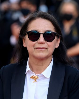 """CANNES, FRANCE - JULY 14: Ildiko Enyedi attends the """"A Felesegam Tortenete/The Story Of My Wife"""" screening during the 74th annual Cannes Film Festival on July 14, 2021 in Cannes, France. (Photo by Kate Green/Getty Images)"""