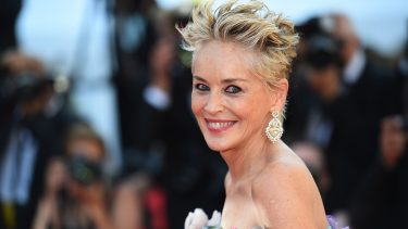 """CANNES, FRANCE - JULY 14: Sharon Stone attends the """"A Felesegam Tortenete/The Story Of My Wife"""" screening during the 74th annual Cannes Film Festival on July 14, 2021 in Cannes, France. (Photo by Stephane Cardinale - Corbis/Corbis via Getty Images)"""