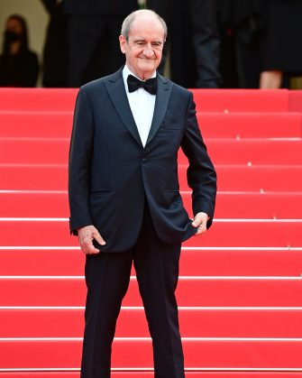 """CANNES, FRANCE - JULY 15: President of the Festival Pierre Lescure attends the """"France"""" screening during the 74th annual Cannes Film Festival on July 15, 2021 in Cannes, France. (Photo by Daniele Venturelli/WireImage)"""
