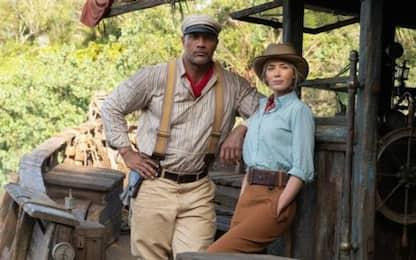 Jungle Cruise, la prima clip video con Dwayne Johnson ed Emily Blunt