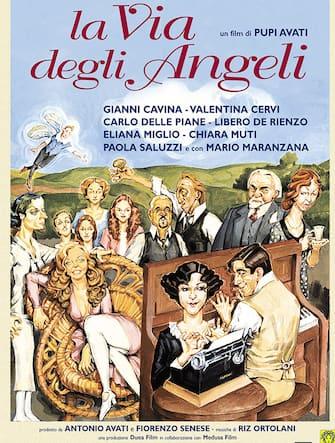 """La locandina del film """"La Via degli Angeli"""" di Pupi Avati"""