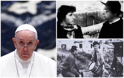 """Papa Francesco e il cinema: """"Amo il neorealismo e i film di Fellini"""""""