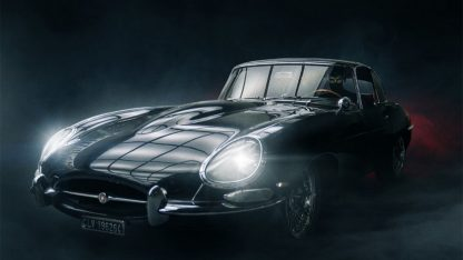Diabolik, la macchina guidata da Marinelli nel teaser poster del film