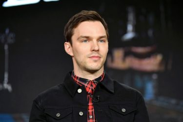 """PASADENA, CALIFORNIA - JANUARY 17: Nicholas Hoult of """"The Great"""" speaks during the Hulu segment of the 2020 Winter TCA Press Tour at The Langham Huntington, Pasadena on January 17, 2020 in Pasadena, California. (Photo by Amy Sussman/Getty Images)"""