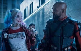 Margot Robbie Will Smith Suicide Squad