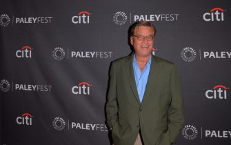 NEW YORK, UNITED STATES - 2019/10/04: Aaron Sorkin attends the PaleyFest New York Opening Night Presents THE WEST WING, A Look Back with Aaron Sorkin at The Paley Center for Media in New York City. (Photo by Ron Adar/SOPA Images/LightRocket via Getty Images)