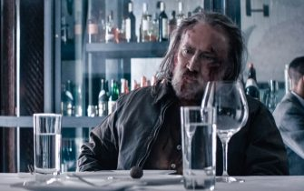 USA. Nicolas Cage in a scene from the (C)Neon new movie: Pig (2021).  Plot: A truffle hunter who lives alone in the Oregonian wilderness must return to his past in Portland in search of his beloved foraging pig after she is kidnapped. Ref: LMK110-J7237190721  Supplied by LMKMEDIA. Editorial Only. Landmark Media is not the copyright owner of these Film or TV stills but provides a service only for recognised Media outlets. pictures@lmkmedia.com