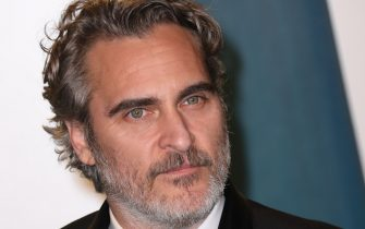 BEVERLY HILLS, CALIFORNIA - FEBRUARY 09:  Joaquin Phoenix attends the 2020 Vanity Fair Oscar Party at Wallis Annenberg Center for the Performing Arts on February 09, 2020 in Beverly Hills, California. (Photo by Toni Anne Barson/WireImage)