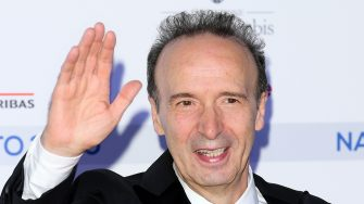 ROME, ITALY - JULY 06: Roberto Benigni attends the 74th edition of the Nastri D'Argento 2020 on July 06, 2020 in Rome, Italy. (Photo by Daniele Venturelli/Getty Images)
