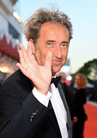 """VENICE, ITALY - SEPTEMBER 02: Paolo Sorrentino attends the red carpet of the movie """"The Hand Of God"""" during the 78th Venice International Film Festival on September 02, 2021 in Venice, Italy. (Photo by Pascal Le Segretain/Getty Images)"""