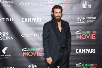 """VENICE, ITALY - SEPTEMBER 05: Can Yaman attends the """"Filming Italy Award"""" during the 78th Venice International Film Festival on September 05, 2021 in Venice, Italy. (Photo by Daniele Venturelli/WireImage)"""