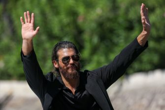 VENICE, ITALY - SEPTEMBER 05: Can Yaman arrives at the 78th Venice International Film Festival on September 05, 2021 in Venice, Italy. (Photo by Marc Piasecki/Getty Images)