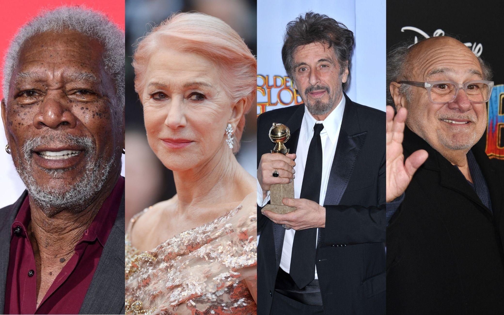 Al Pacino, Helen Mirren, Morgan Freeman e Danny DeVito