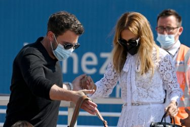 VENICE, ITALY - SEPTEMBER 09: Ben Affleck and Jennifer Lopez  arrive at the 78th Venice International Film Festival on September 09, 2021 in Venice, Italy. (Photo by Pascal Le Segretain/Getty Images)