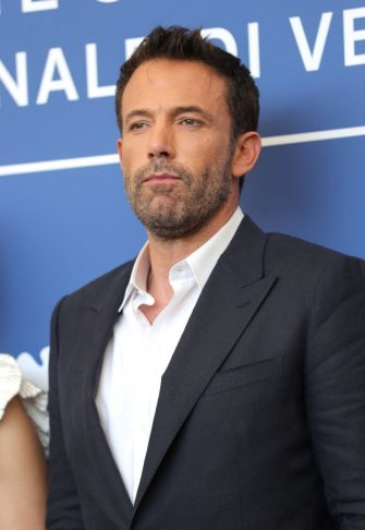 """VENICE, ITALY - SEPTEMBER 10: Ben Affleck attends the photocall of """"The Last Duel"""" during the 78th Venice International Film Festival on September 10, 2021 in Venice, Italy. (Photo by Vittorio Zunino Celotto/Getty Images)"""