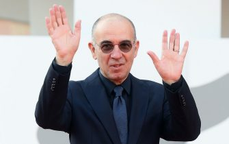 Italian filmmaker Giuseppe Tornatore arrives for the premiere of  'Ennio (Ennio The Maestro)' during the 78th annual Venice International Film Festival, Venice, Italy, 10 September 2021. The movie is presented out of competition at the festival running from 01 to 11 September.  ANSA/ETTORE FERRARI