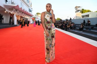 VENICE, ITALY - SEPTEMBER 11: Venezia78 Jury Member Cynthia Erivo attends the closing ceremony red carpet during the 78th Venice International Film Festival on September 11, 2021 in Venice, Italy. (Photo by Pascal Le Segretain/Getty Images)