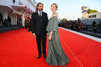 VENICE, ITALY - SEPTEMBER 11: Venezia78 Jury Member Saverio Costanzo and Alba Rohrwacher attend the closing ceremony red carpet during the 78th Venice International Film Festival on September 11, 2021 in Venice, Italy. (Photo by Pascal Le Segretain/Getty Images)