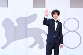 VENICE, ITALY - SEPTEMBER 11: Filippo Scotti attends the closing ceremony red carpet during the 78th Venice International Film Festival on September 11, 2021 in Venice, Italy. (Photo by Daniele Venturelli/WireImage)