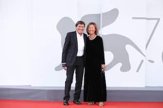 (KIKA) - VENICE -Venezia 78: italian director Giuseppe Tornatore, Oscar winner for Nuovo cinema Paradiso, presents his work Ennio celebrating italian composer and Oscar Winner Ennio Morricone
