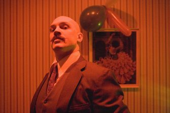 """Tom Hardy in """"Bronson."""" (2009) Photo by: Magnet Releasing"""