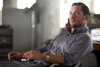 TOM HARDY as Eames in Warner Bros. Picturesâ   and Legendary Picturesâ   sci-fi action film â  INCEPTION,â   a Warner Bros. Pictures release.