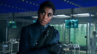 B25_27381_RC2Lashana Lynch stars as Nomi inNO TIME TO DIE, an EON Productions and Metro-Goldwyn-Mayer Studios filmCredit: Nicola Dove© 2021 DANJAQ, LLC AND MGM.  ALL RIGHTS RESERVED.