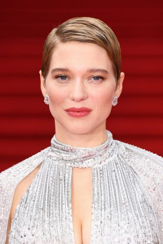 """LONDON, ENGLAND - SEPTEMBER 28: Léa Seydoux attends the World Premiere of """"NO TIME TO DIE"""" at the Royal Albert Hall on September 28, 2021 in London, England. (Photo by Jeff Spicer/Getty Images for EON Productions, Metro-Goldwyn-Mayer Studios, and Universal Pictures)"""