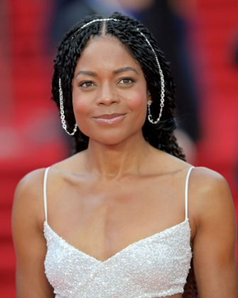 """LONDON, ENGLAND - SEPTEMBER 28:  Naomie Harris attends the """"No Time To Die"""" World Premiere at Royal Albert Hall on September 28, 2021 in London, England. (Photo by Samir Hussein/WireImage)"""